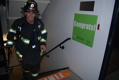 Firefighter Congrats, Climb to the Top Boston 2016