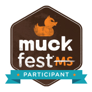 MuckFest MS Badge